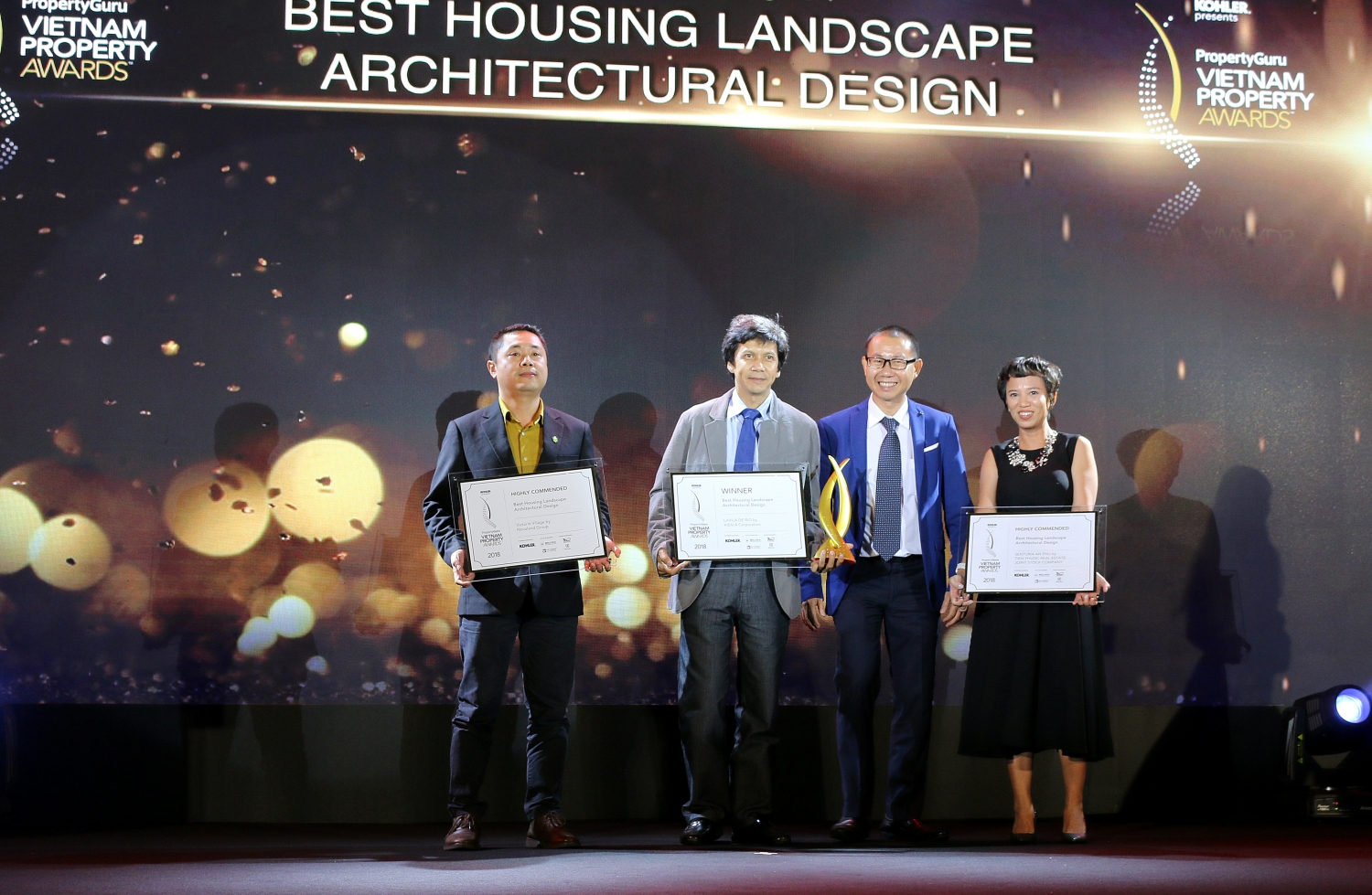 Senturia An Phu honored by Vietnam Property Awards 2018