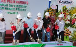 Topping out ceremony of Palm Heights