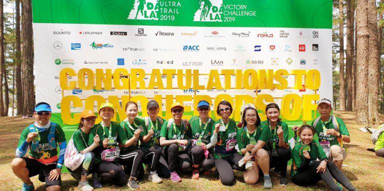 Tiến Phước tham gia giải chạy Siêu Marathon Quốc tế Dalat Ultra Trail