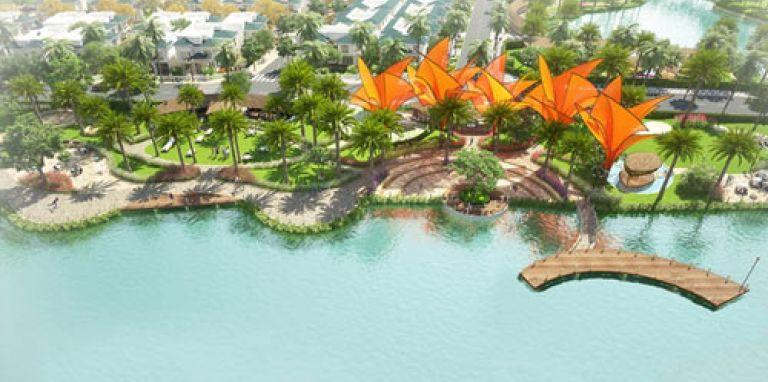 Senturia Vườn Lài - Biệt thự nghỉ dưỡng ven sông