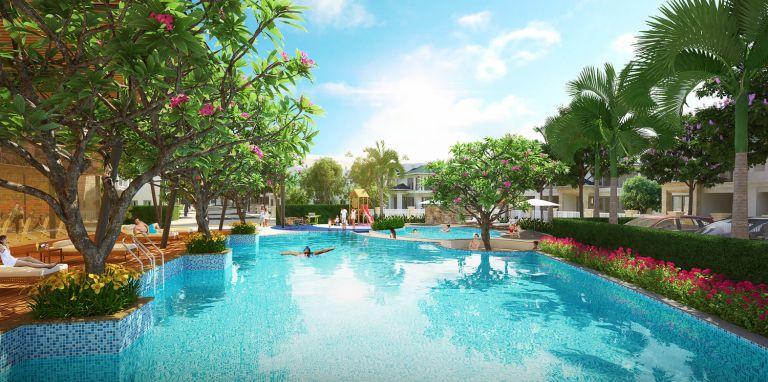 Senturia Vườn Lài - Khu biệt thự mang phong cách nghỉ dưỡng