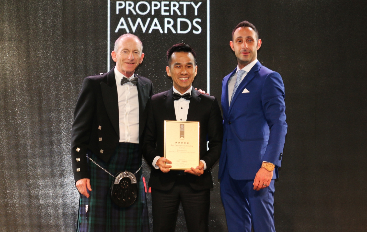 Tien Phuoc wins Top honor at Asia Pacific Property Awards 2018 - 2019