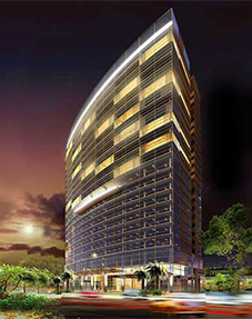 Five-star Le Meridien Saigon Hotel and Office Complex